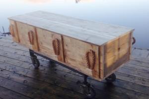 Steigerhouten timmermans kist